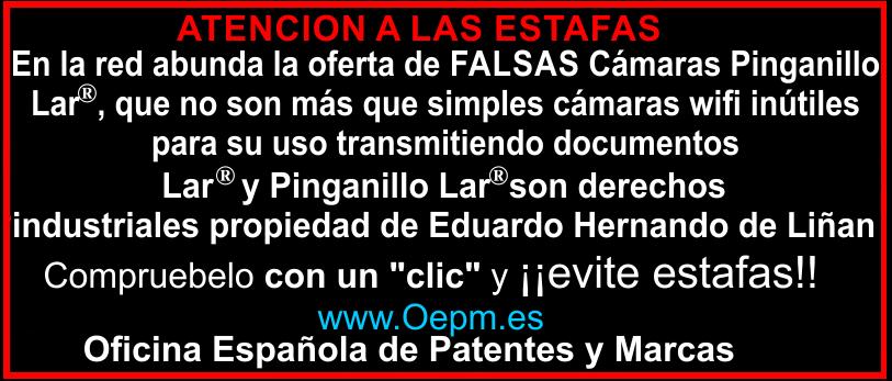 Camara Pinganillo Lar Patentes y Marcas