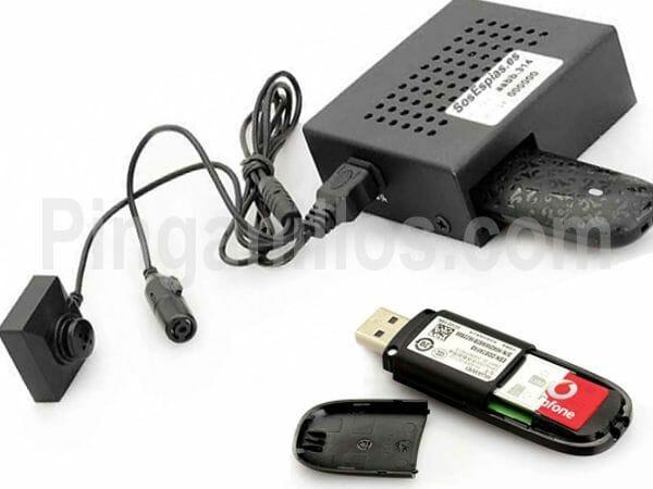Camara Pinganillo con boton y servidor Ip Internet